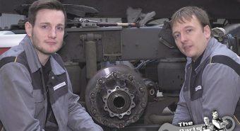 DT Spare Parts – Substituição de cubo de roda de camião demonstrada em vídeo
