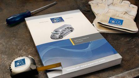 DT Spare Parts – Novo programa de produtos para Ford Transit