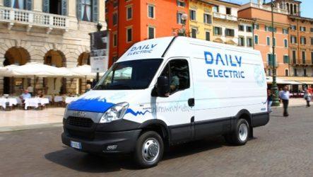 Iveco. Novo Daily Electric