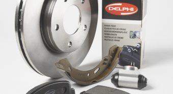 Delphi apresenta novas gamas de travagem e gestão de motor