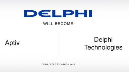 Delphi – Conhecidas empresas resultantes da cisão da Powertrain Systems