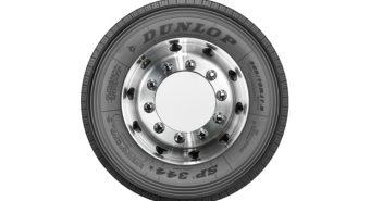 """Dunlop. Novos pneus de direção SP 344* de 17,5"""" para camião"""