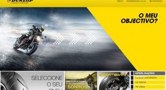 Dunlop – Renovado site de motos