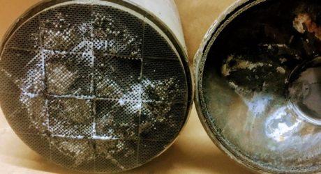 Escape Forte alerta para o perigo dos filtros de partículas usados