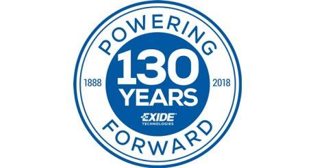 Exide assinala 130º aniversário