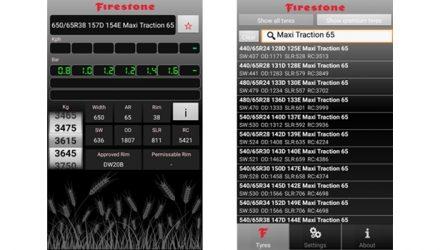 Firestone. App para medir pressão dos pneus