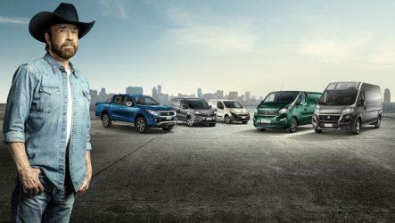 Fiat Professional – Campanha publicitária tem Chuck Norris como protagonista