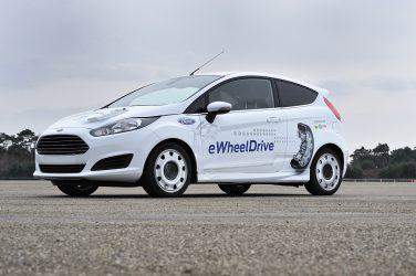 Ford e Schaeffler demonstram projecto eWheelDrive