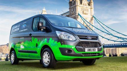 Ford – Transit híbrida em Londres