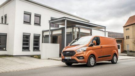 Ford – Nova Transit Custom chega em fevereiro