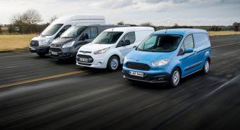 Ford – Marca mais vendida de comerciais na Europa