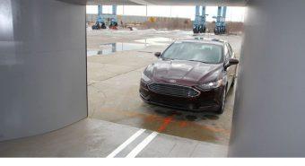 Ford. Marca estreia túnel aero-acústico móvel
