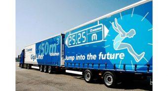 Transporte. Megacamiões já circulam em Espanha