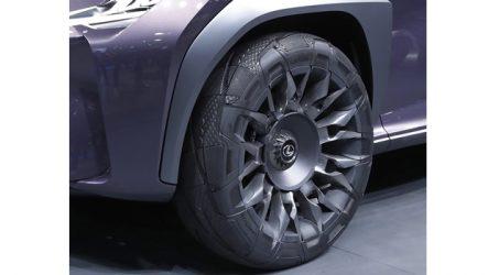 Goodyear – Protótipo para concept Lexus UX