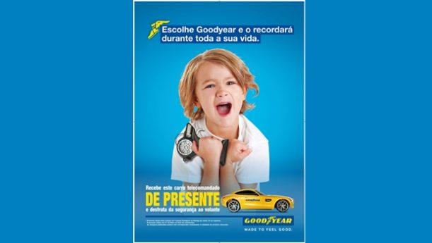 Goodyear – Campanha de verão oferece carro telecomandado