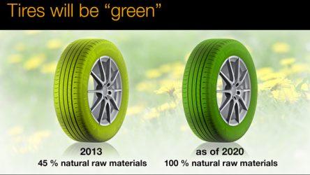 """Continental. """"Pneus verdes"""" uma realidade do presente"""