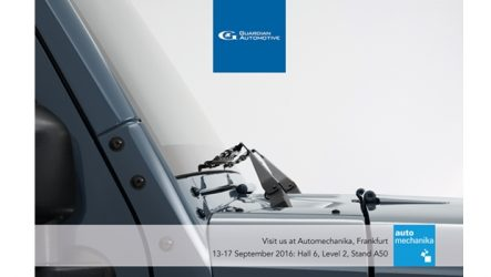 Guardian Automotive – Estreia na Automechanika