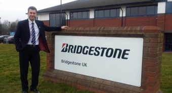 Bridgestone. Guy Jones à frente do Norte da Europa