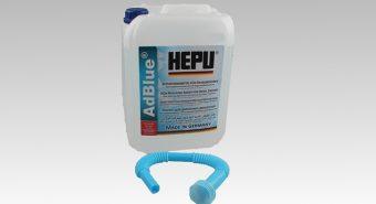 Hepu lança embalagens com dez litros de AdBlue