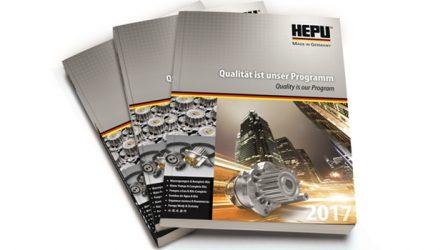 Hepu. Novo catálogo na Automechanika