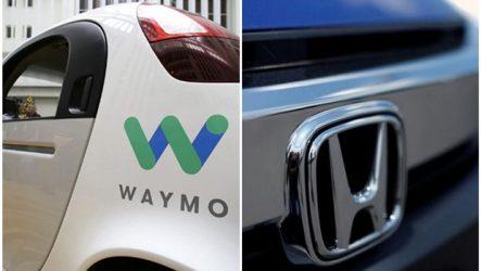 Honda – Parceria com a Waymo nos autónomos