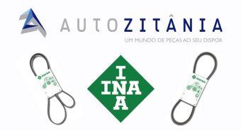 Autozitânia – Oferta alargada com correias INA