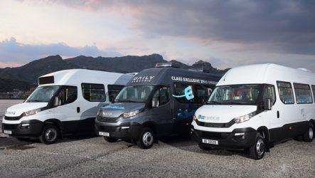 """Iveco – Três minibuses fornecidos para """"Cimeira do G7"""""""