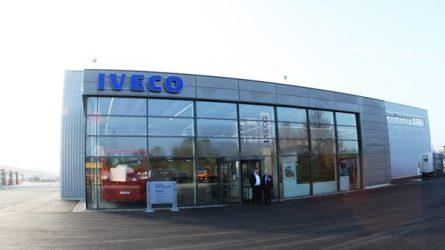 Iveco – Centro de entregas inaugurado em Ulm