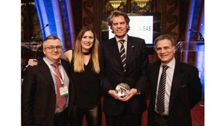 """Iveco – Stralis NP eleito """"Projeto do Ano"""" nos """"European Gas Awards of Excellence 2017"""""""
