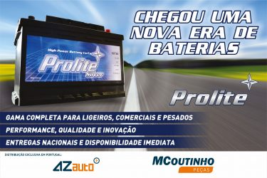 MCoutinho. Baterias Prolite chegam ao mercado português