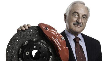 Brembo – Alberto Bombassei no Automotive Hall of Fame