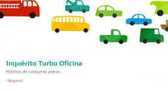 TURBO OFICINA. Inquérito ao consumidor sobre pneus