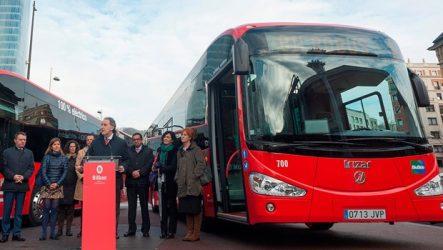 Irizar – Dois autocarros elétricos entregues a Bilbau