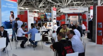 Maior presença em feiras internacionais