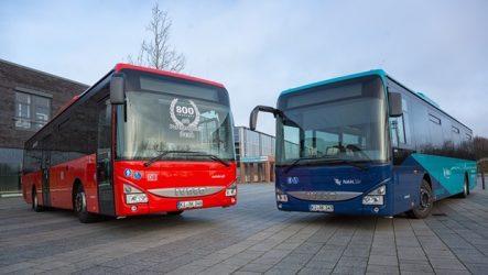 Iveco – DB Regio Bus recebe 800º Crossway