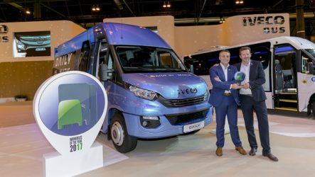 Iveco – Daily Tourys eleito Minibus do Ano 2017