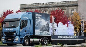 Iveco – Stralis NP protagonista de campanha sobre clima