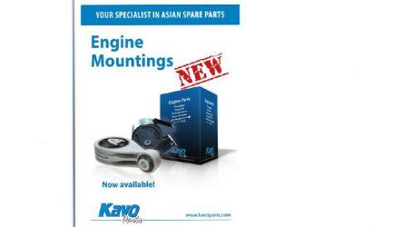 Kavo Parts. Novo catálogo de apoios de motor