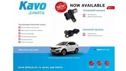 Kavo – Novos sensores para a cambota e árvore de cames