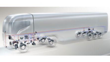 Knorr-Bremse – Visão do camião do futuro em Hannover