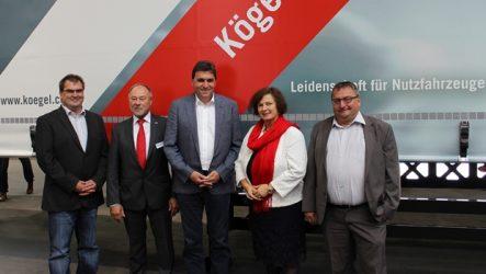 Kögel – Fornecedor exclusivo da Andreas Schmid Logistik em 2017