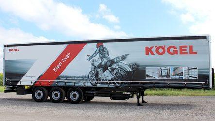 Kögel – Estreia do Cargo com equipamento RoRo na Transport Compleet 2017