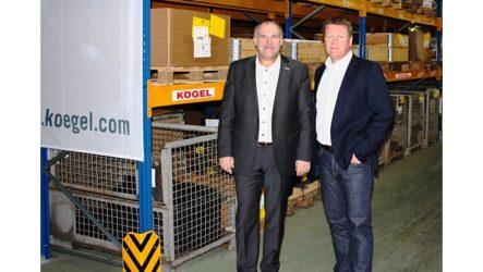 Kögel – Novo centro logístico