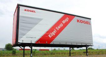 Kögel – Nova caixa móvel Swap Mega