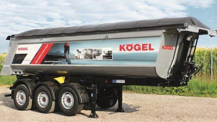 Kögel – Novo reboque para asfalto na IAA
