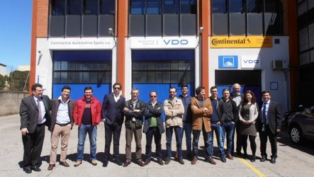 Krautli. Em Madrid com a rede de tacógrafos VDO