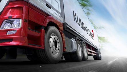 Kumho – Relançamento da gama para pesados apoia-se na Nex Tyres
