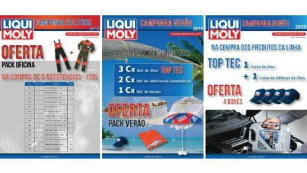 Liqui Moly. Três campanhas a decorrer em Julho