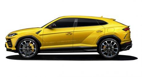 Nova família de pneus para Lamborghini Urus