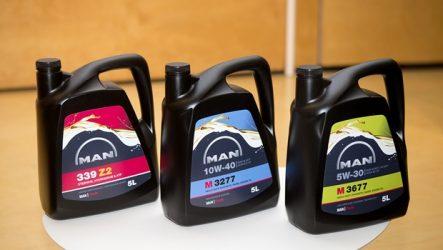 MAN. Nova gama de lubrificantes